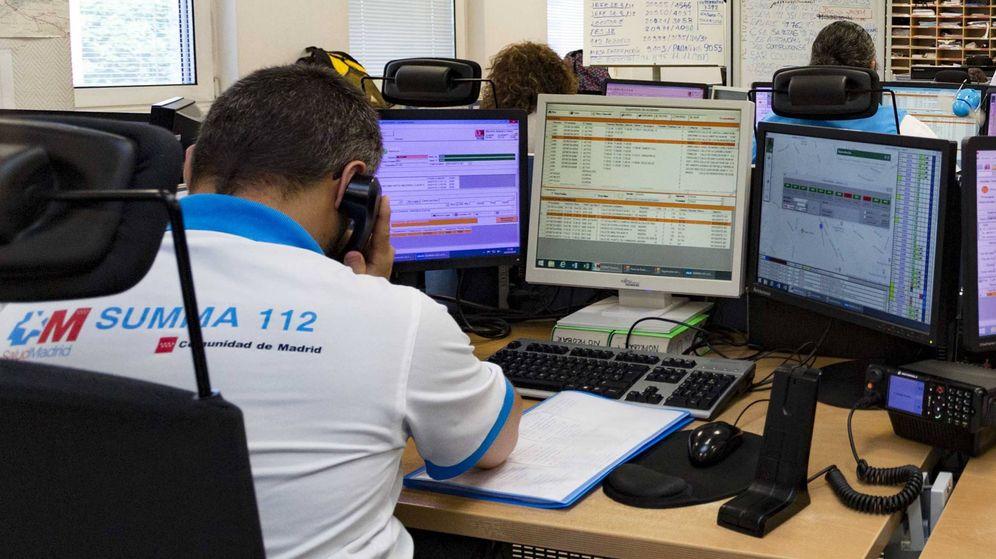 Foto: El centro coordinador del Summa112 en la calle Antracita.