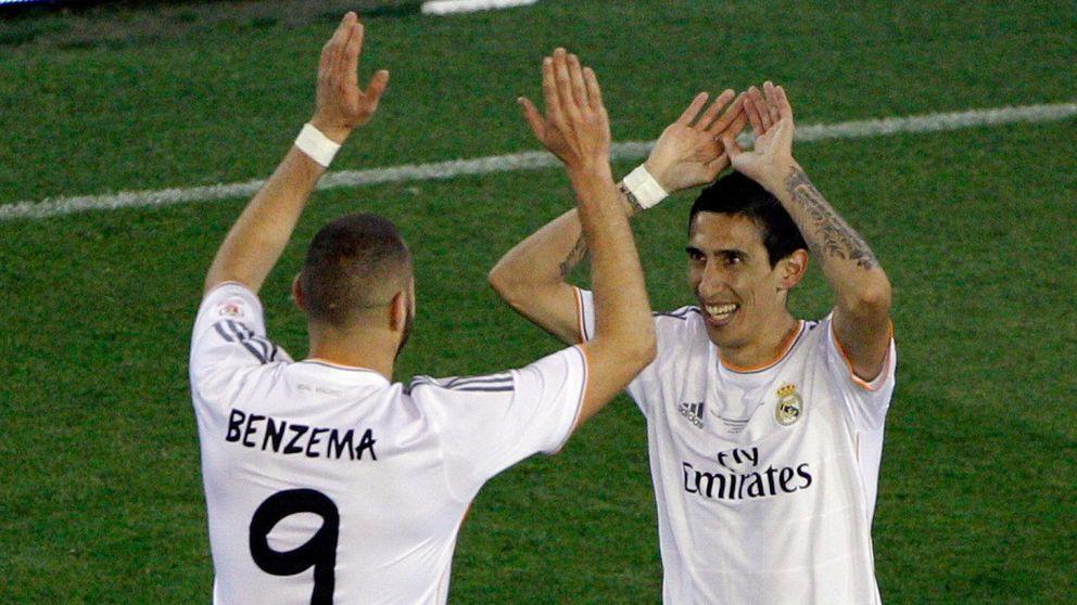 Di María convence y renovará, pero Benzema agota la paciencia blanca