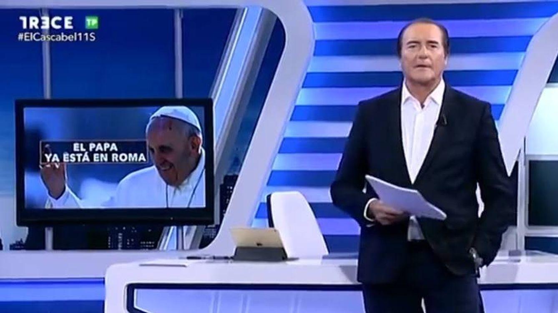 Antonio Jiménez teme por su futuro en Trece: 'El cascabel' se vuelca con el Papa