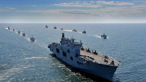50 buques y 9.000 soldados: así se vive el mayor ensayo de guerra en el patio de Rusia