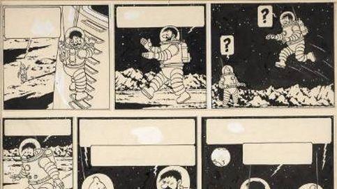 Una página de un cómic de Tintin, vendida por 1,55 millones de euros