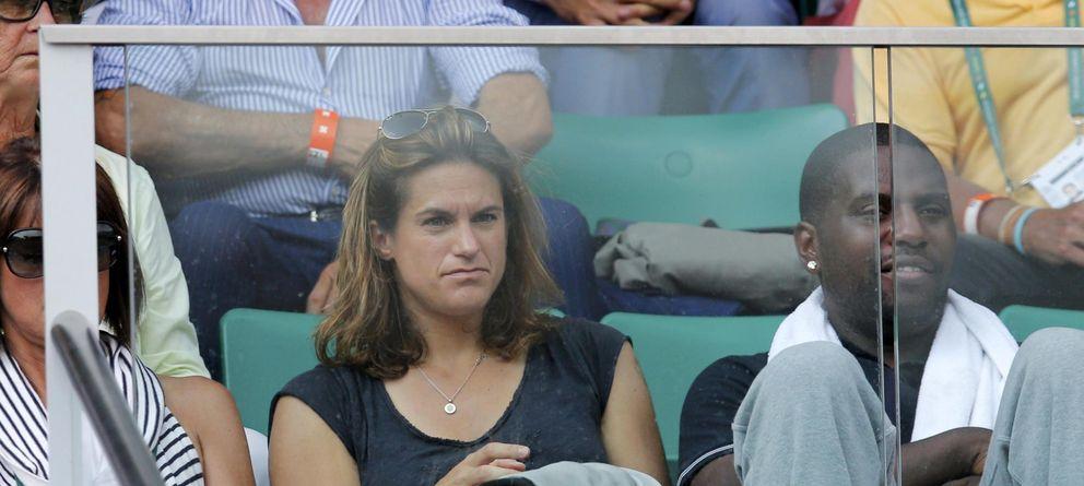 Foto: Amelie Mauresmo, durante la final de Roland Garrós (Reuters)