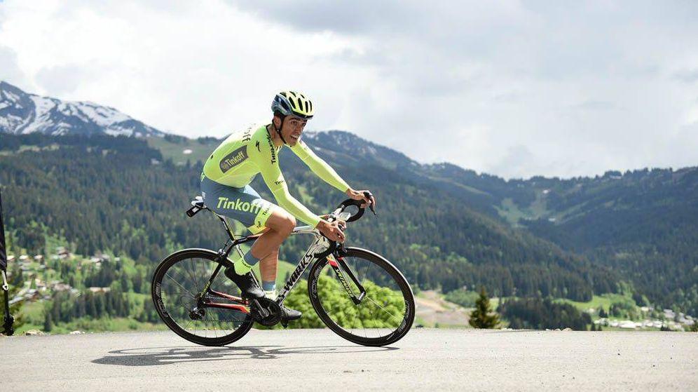 Foto: Alberto Contador no ha ganado nunca en el Duaphiné (ASO/A.Broadway)