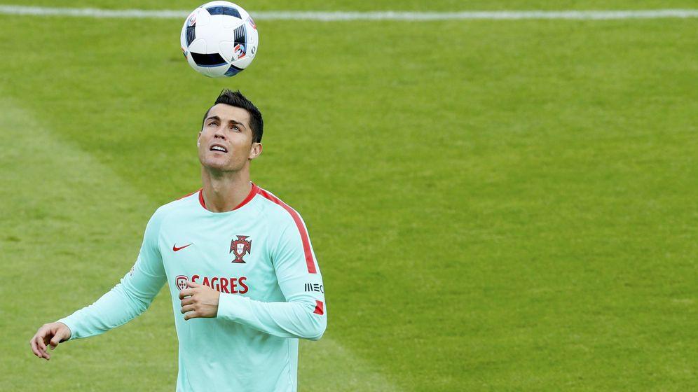 Foto: Cristiano Ronaldo, con la camiseta de la Selección de Portugal (Reuters)