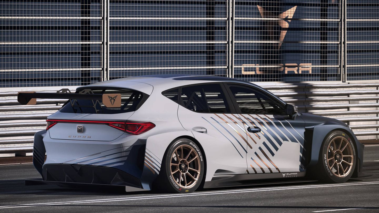 Nuevo Cupra e-Racer un innovador coche eléctrico de competición con 680 caballos.