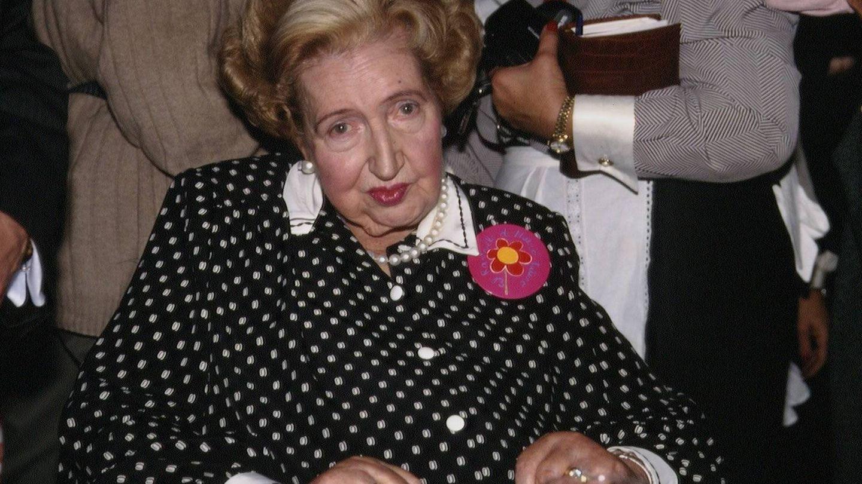 María de las Mercedes en 1994.(Cordon Press)