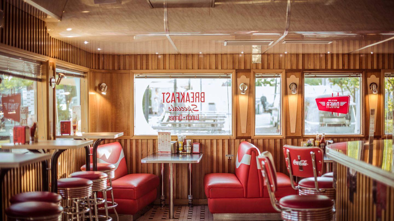 En Rita's Lunch podrás comer en un típico diner americano. (Cortesía)