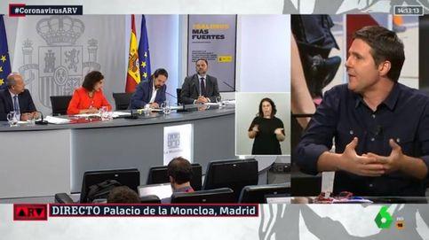 La contundente réplica de Jesús Cintora a Vicente Vallés sobre Podemos