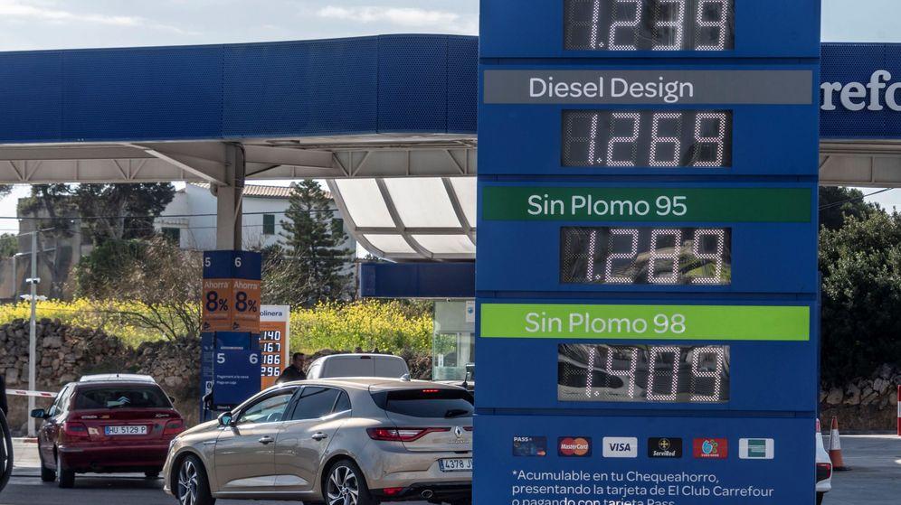 Foto: Gasolinera en Mallorca. (Efe)