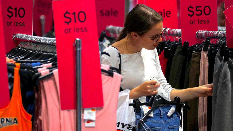 El dato de ventas minoristas de EEUU despeja los miedos a la inflación en los mercados