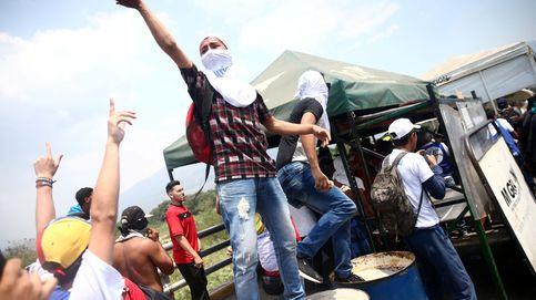 Las imágenes de la jornada de protestas en Venezuela