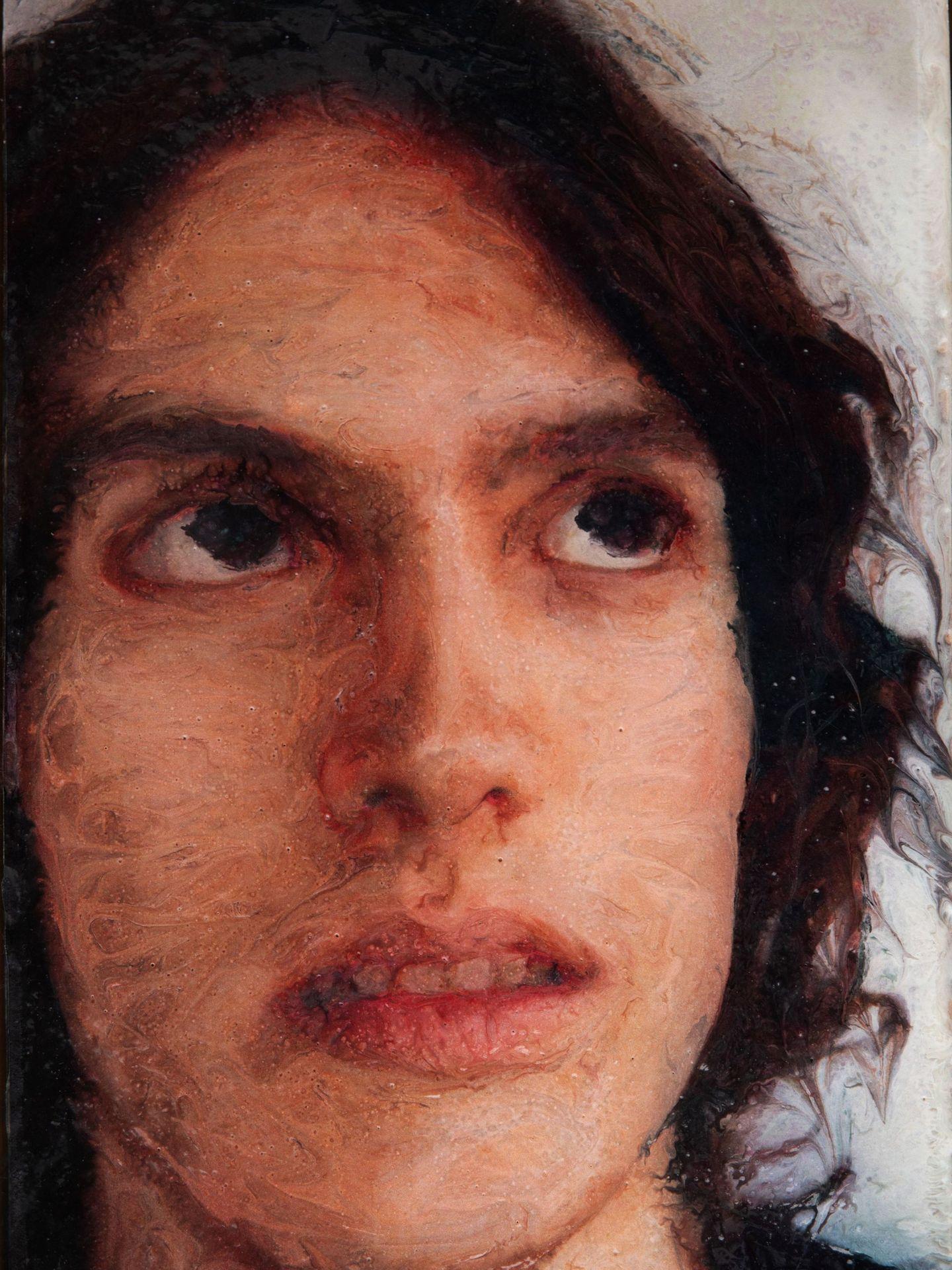 Reproducción fotográfica cedida por el Museo de Arte de San Diego (SDMA) donde aparece 'San Juan', de José María Cano. (EFE)