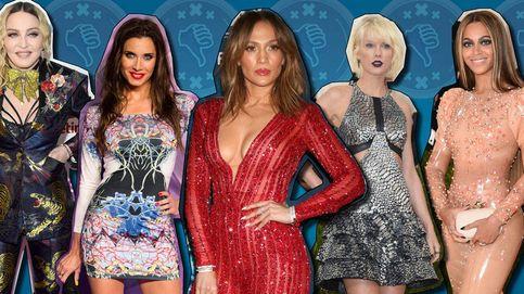 De JLo y Taylor Swift a Kim Kardashian, estos son los peores looks de 2016
