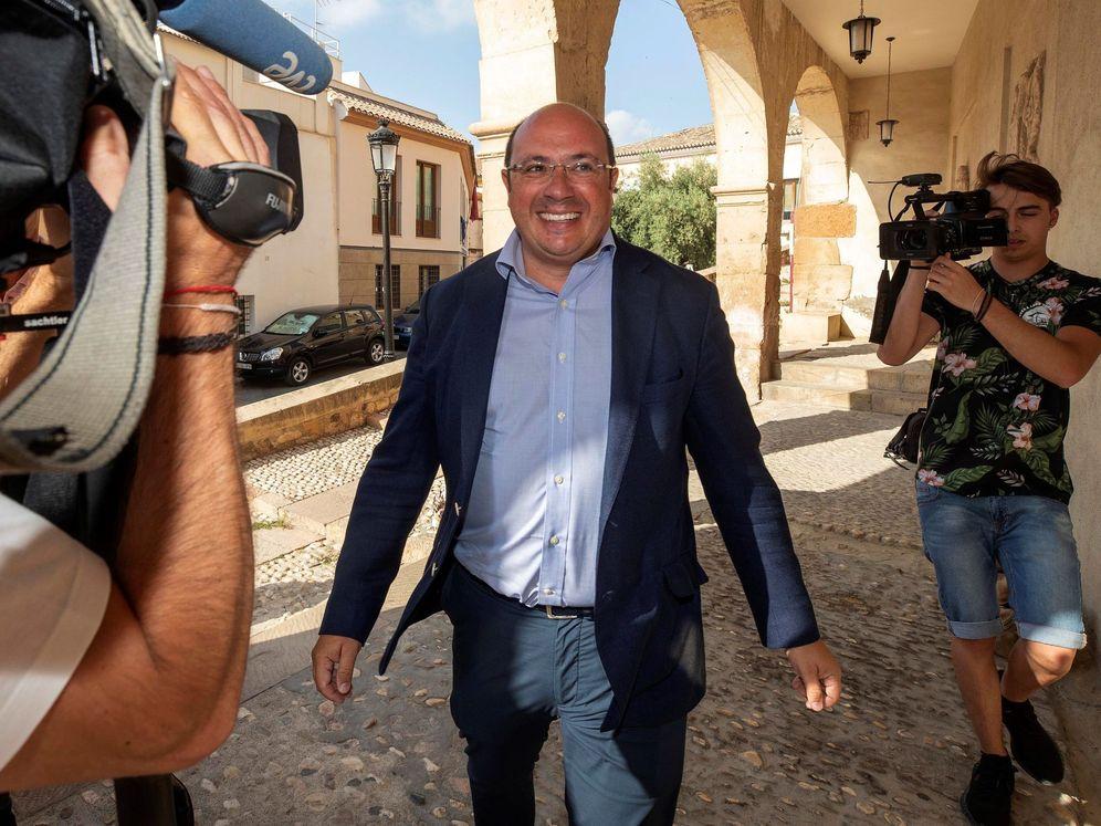 Foto: El expresidente de la Comunidad de Murcia Pedro Antonio Sánchez. (EFE)