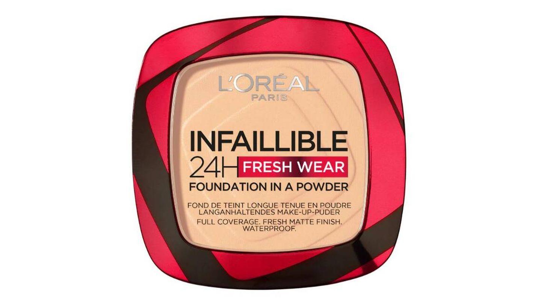 Polvos Compactos Mate Infalible 24H de L'Oréal Paris.