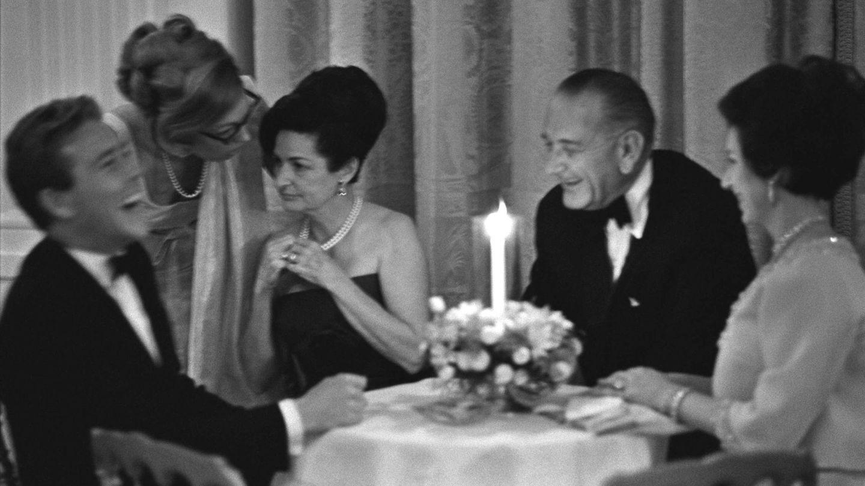 La princesa Margarita, a la derecha, junto a su marido y el entonces presidente de Estados Unidos y la primera dama. (Cordon Press)