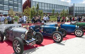 Bugatti toma las carreteras burgalesas