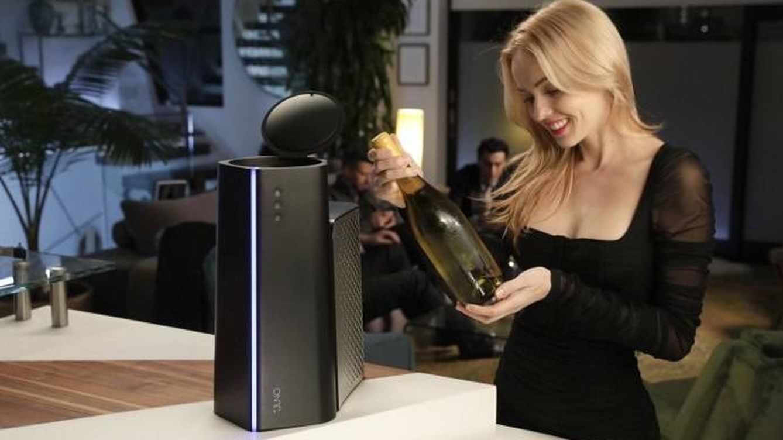 El invento que todos necesitamos: un aparato para enfriar bebidas en un minuto