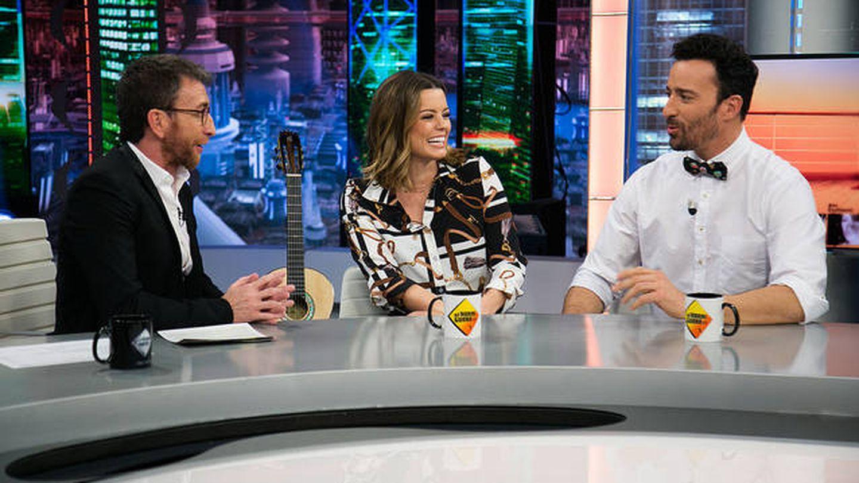 Adriana Torrebejano y Pablo Puyol en 'El Hormiguero'. (Atresmedia)