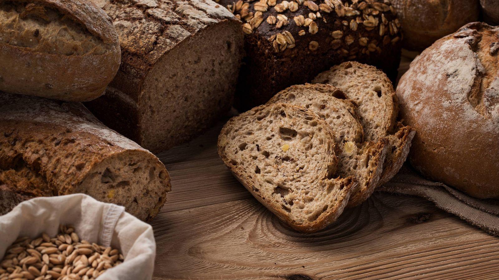 Foto: Pan integral de centeno.