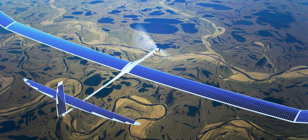 Foto: El plan de Facebook para llevar internet a todo el mundo: los drones con placas solares