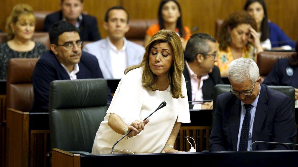 Foto: Susana Díaz, presidenta en funciones de la Junta de Andalucía. (Reuters)