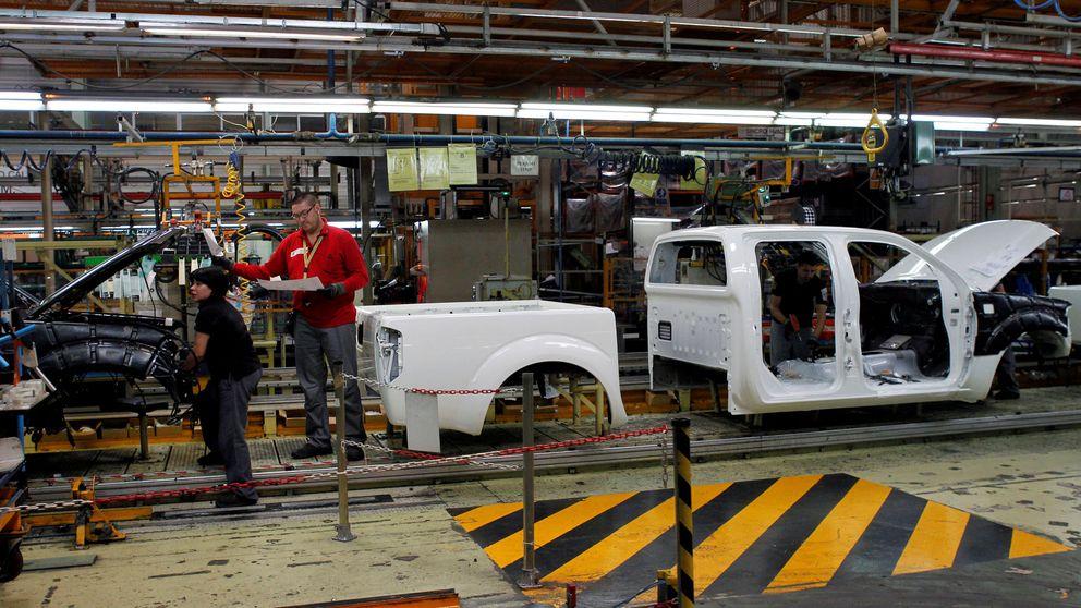 La producción industrial se hunde un 6,2%, el peor dato desde la crisis de 2012