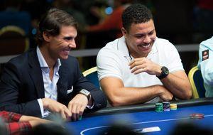 Rafael Nadal despluma a Ronaldo jugando al póquer: 12.000 euros