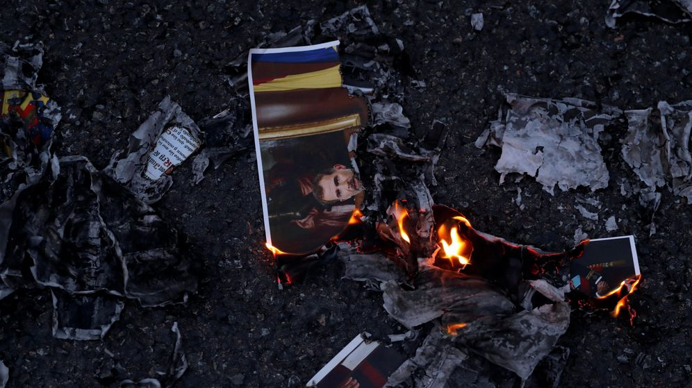 Foto: Los CDR protestan contra el rey Felipe VI en las calles de Barcelona. (Reuters)