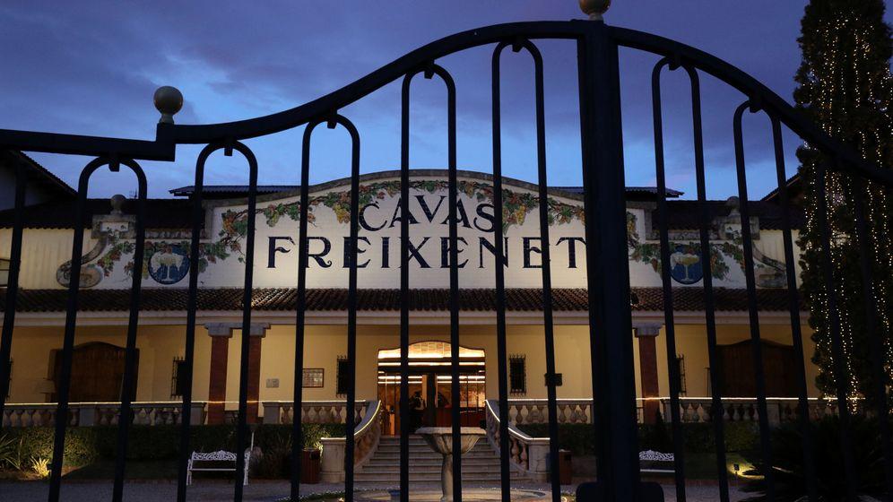 Foto: Vista de la entrada a Freixenet. (EFE)
