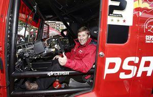Antonio Albacete se queda sin el liderato del Europeo de camiones