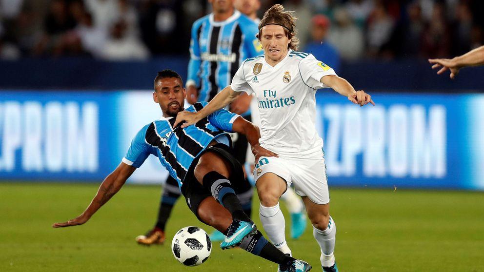 Modric alegra la vida del Real Madrid, mientras Bale (parece) ya está en ello