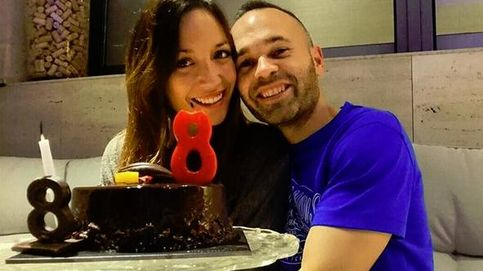 Andrés Iniesta y Anna Ortiz celebran sus ocho años de amor
