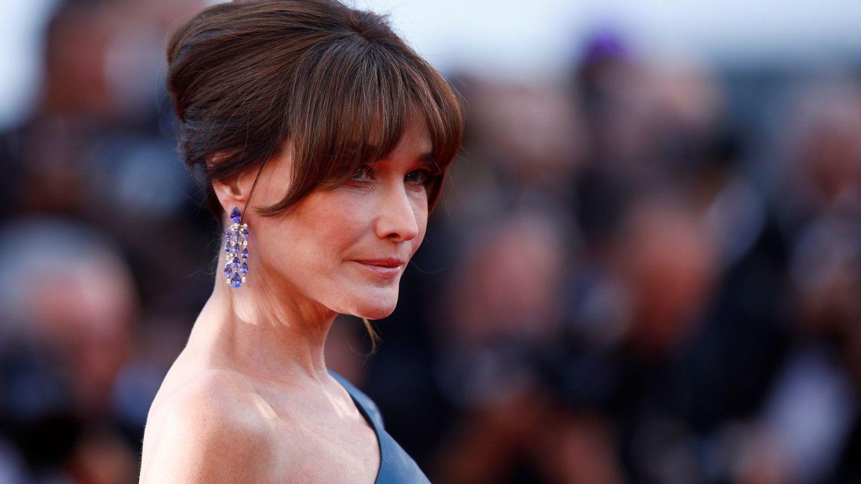 Carla Bruni, durante la 72 edición del Festival de Cine de Cannes. (EFE)
