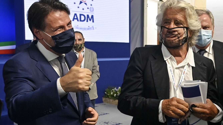 Guerra fraticida en el populismo italiano: Grillo manda todo a tomar por culo otra vez