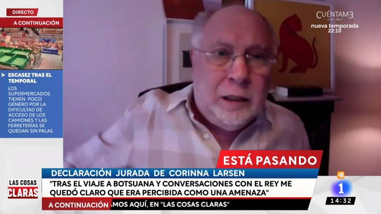 La enfurecida reacción de Ernesto Ekaizer en TVE por su aparatosa conexión en directo