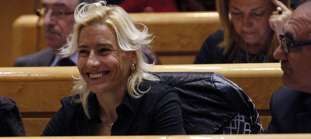 Marta Domínguez continúa con la boca cerrada y no declara ante Competición