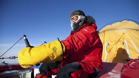 La gran epopeya de volar en el corazón de Groenlandia subido en un trineo