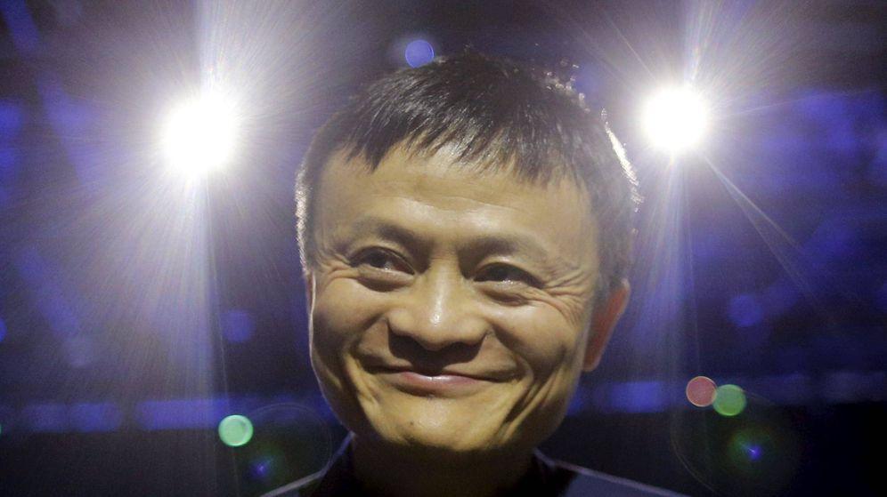 Foto: El jefe ejecutivo de Alibaba en la Conferencia Mundial sobre el Cambio Climático. (Reuters)