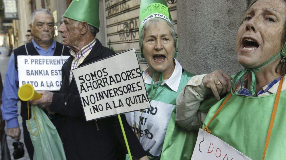 Foto: Afectados por las preferentes de Bankia.