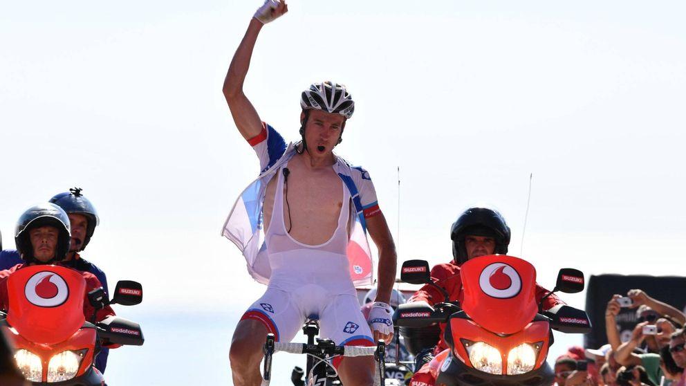 El muro de Ézaro regala el liderato a Rubén Fernández y castiga a Contador