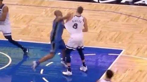 A puñetazos en la NBA... contra un exACB