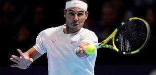 Post de Rafa Nadal en directo: duelo contra Stefanos Tsitsipas en la Copa de Maestros