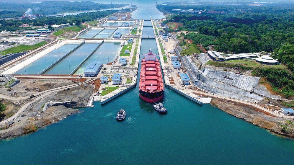 Foto: Foto de archivo del canal de Panamá. (EC)