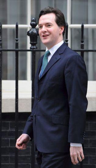 Foto: Osborne, un joven ministro de Economía con mucha vida a sus espaldas