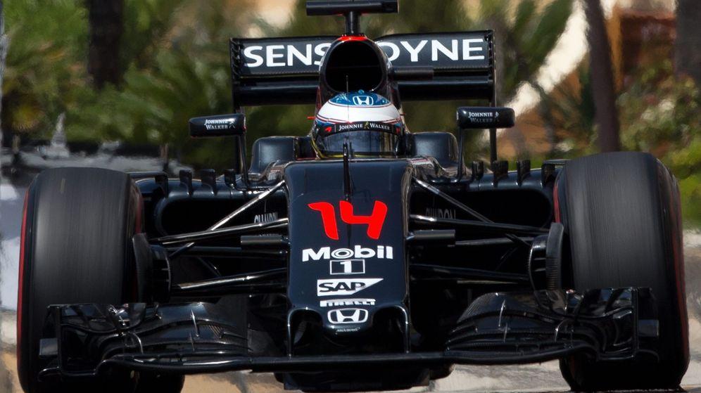 Foto: Fernando Alonso, este sábado durante la clasificación.