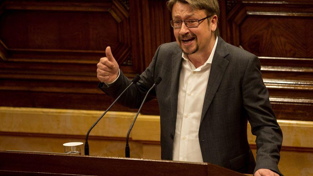 Foto: El líder de Catalunya en Comú Podem, Xavier Domènech. (EFE)
