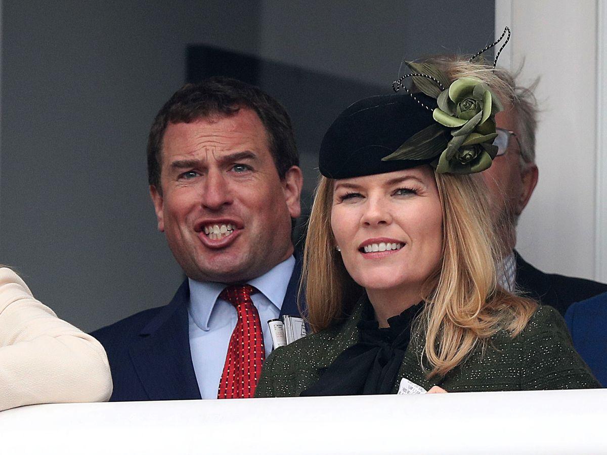 Foto: Peter Phillips y Autumn Kelly este martes. (Reuters)