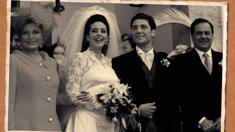 Lentillas azules y pelo postizo de princesas peruanas: la primera boda de Rocío Carrasco