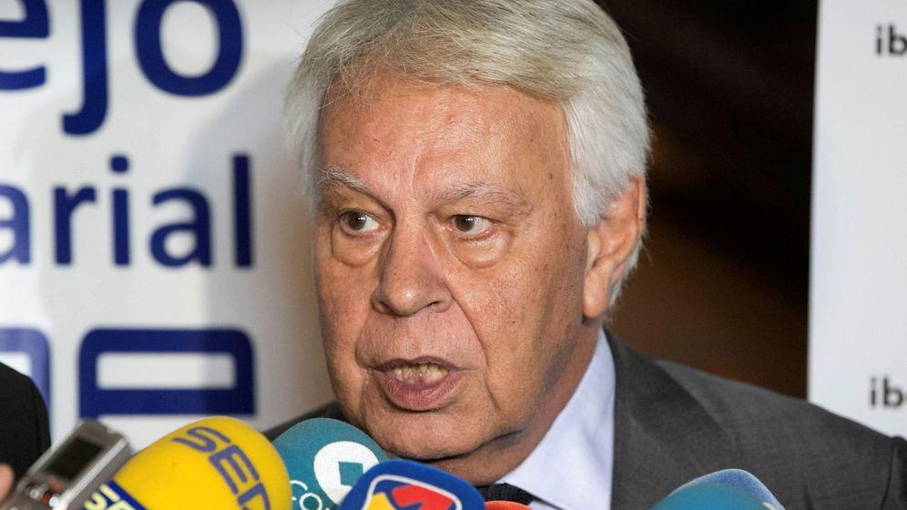 Foto: El expresidente del Gobierno de España Felipe González. (EFE)